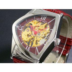 マニアックワーカー 腕時計 フルスケルトン 手巻き  M3011-RDGD|rcmdse