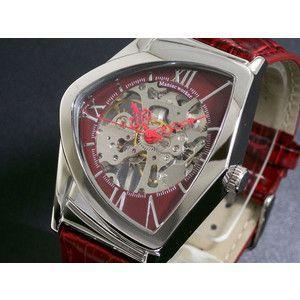 マニアックワーカー 腕時計 フルスケルトン 手巻き  M3011-RDSV|rcmdse
