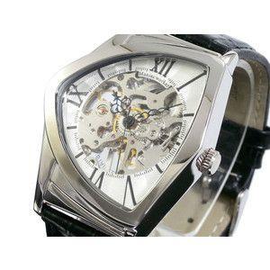 マニアックワーカー 腕時計 フルスケルトン 手巻き  M3011-SVSV|rcmdse