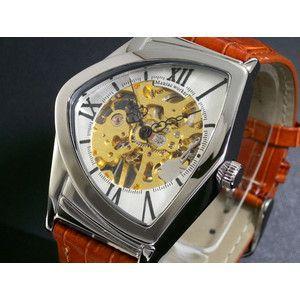 マニアックワーカー 腕時計 フルスケルトン 手巻き  M3011-SVGD|rcmdse