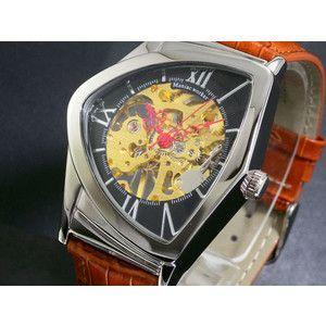 マニアックワーカー 腕時計 フルスケルトン 手巻き  M3011-BKGD|rcmdse