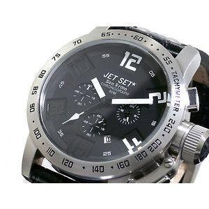 ジェットセット JETSET 腕時計 クロノグラフ メンズ J27581-217|rcmdse
