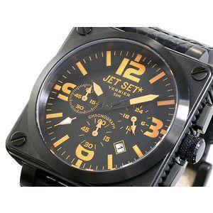 ジェットセット JETSET 腕時計 クロノグラフ メンズ J1890B-557|rcmdse