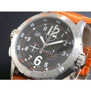 HAMILTON ハミルトン KHAKI カーキ エアー クロノ 腕時計 H74512833|rcmdse