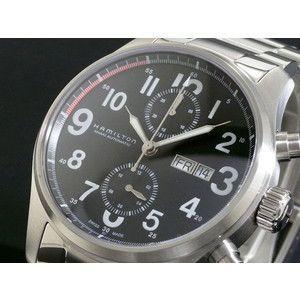 HAMILTON ハミルトン カーキ オフィサー オート クロノ 腕時計 H71716133|rcmdse