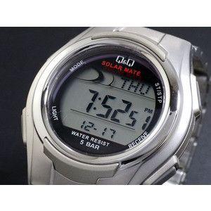 シチズン製 Q&Q 電波 ソーラー 腕時計 メンズ MHS4-302|rcmdse