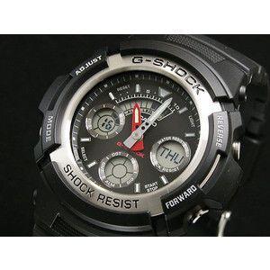 カシオ CASIO Gショック G-SHOCK アナデジ 腕時計 AW-590-1AJF|rcmdse