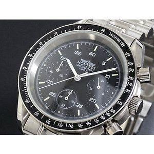 モントレス MONTRES 腕時計 クロノグラフ メンズ MC68191-BK|rcmdse
