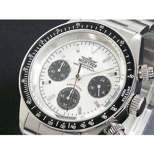 モントレス MONTRES 腕時計 クロノグラフ メンズ MC68187-SV|rcmdse