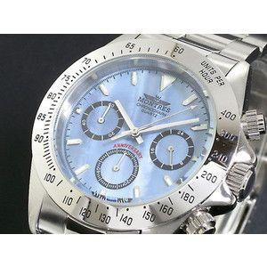 モントレス MONTRES 腕時計 クロノグラフ メンズ MC68199-BLS シェル|rcmdse