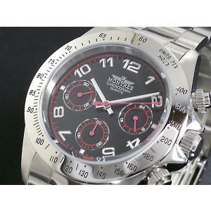 モントレス MONTRES 腕時計 クロノグラフ メンズ MC68199A-BK|rcmdse