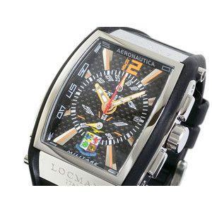 LOCMAN ロックマン 腕時計 時計 アエロナウティカ1000本限定 260 黒/黒 ラバー|rcmdse