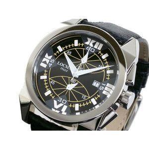 LOCMAN ロックマン 腕時計 時計 ラージ 160 CR 黒-白/黒 革|rcmdse
