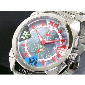 LOCMAN ロックマン 腕時計 ラージ 160 CR 青MOP-赤|rcmdse