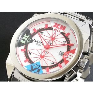 LOCMAN ロックマン 腕時計 ラージ 160 CR MOP-赤|rcmdse