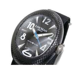 LOCMAN ロックマン 腕時計 NUOVO 101 SSB黒H-青/黒 布|rcmdse