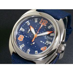LOCMAN ロックマン 腕時計 クロノ 133 CR 紺-OR/紺 布|rcmdse