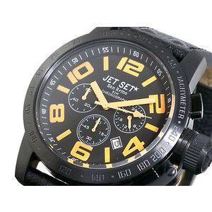 ジェットセット JETSET 腕時計 クロノグラフ メンズ J3757B-517|rcmdse