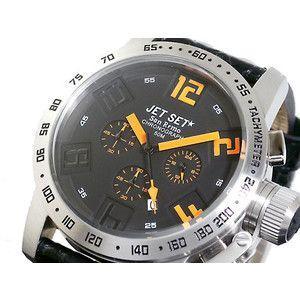 ジェットセット JETSET 腕時計 クロノグラフ メンズ J27581-517|rcmdse