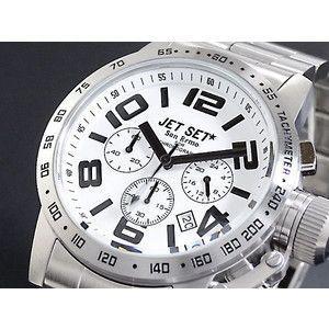 ジェットセット JETSET 腕時計 クロノグラフ メンズ J37573-112|rcmdse