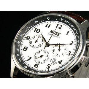 MUSK ムスク 腕時計 クロノグラフ メンズ MMT-020 時計工具付|rcmdse