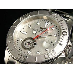 MUSK ムスク 腕時計 自動巻き メンズ MMT-003 時計工具付|rcmdse