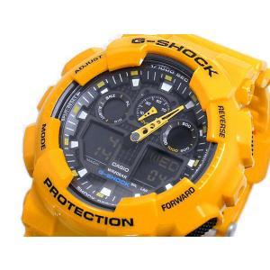 カシオ Gショック 腕時計 アナデジ GA100A-9A|rcmdse