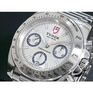 TUDOR チュードル 腕時計 スポーツクロノ 20300 銀×銀 3連ベルト|rcmdse