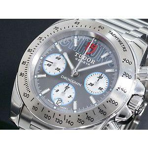 TUDOR チュードル 腕時計 スポーツクロノ 20300 グレー×銀 3連ベルト|rcmdse