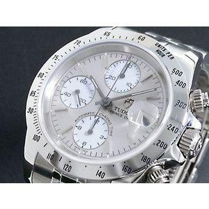 TUDOR チュードル 腕時計 クロノタイム 79280 グレー×白|rcmdse