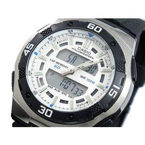 カシオ CASIO 腕時計 アナデジ AQ164W-7A|rcmdse