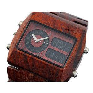 ウィーウッド WEWOOD 木製 腕時計 クロノ ブラウン|rcmdse
