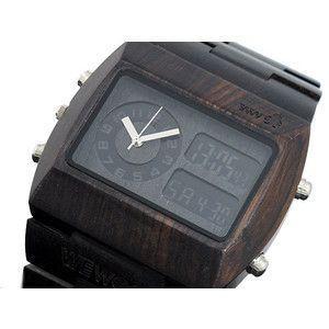 ウィーウッド WEWOOD 木製 腕時計 クロノ ブラック|rcmdse