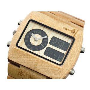 ウィーウッド WEWOOD 木製 腕時計 クロノ ベージュ|rcmdse