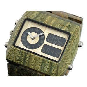 ウィーウッド WEWOOD 木製 腕時計 クロノ アーミー|rcmdse