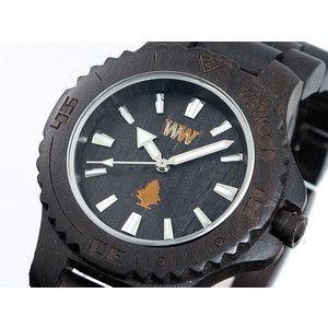 ウィーウッド WEWOOD 木製 腕時計 デイト ブラック rcmdse