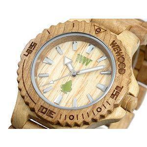 ウィーウッド WEWOOD 木製 腕時計 デイト ベージュ rcmdse