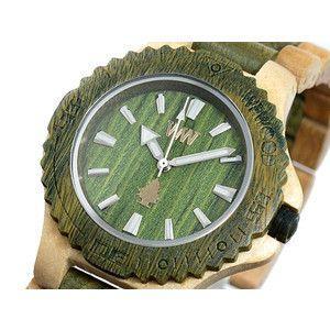 ウィーウッド WEWOOD 木製 腕時計 デイト ベージュアーミー rcmdse