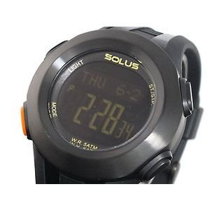 SOLUS ソーラス 腕時計 デジタル 心拍計測機能付き 01-101-001|rcmdse