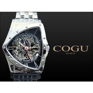 コグ COGU 腕時計 流通限定モデル 自動巻き フルスケルトン BNT-BK|rcmdse