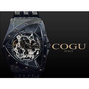 コグ COGU 腕時計 流通限定モデル 自動巻き フルスケルトン BNT-BBK|rcmdse