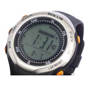 ソーラス SOLUS 腕時計 デジタル 心拍計測機能付き 01-110-002|rcmdse