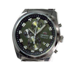 オリエント ORIENT 腕時計 クロノグラフ メンズ FTT0U002F0|rcmdse
