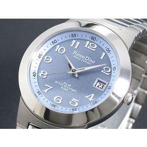ロマンディーノ Roven Dino チタン ソーラー 腕時計 メンズ RD3078-3|rcmdse