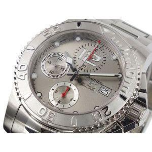 ロンジン LONGINES クロノグラフ 腕時計 ハイドロコンクエスト L3.673.4.76.6|rcmdse