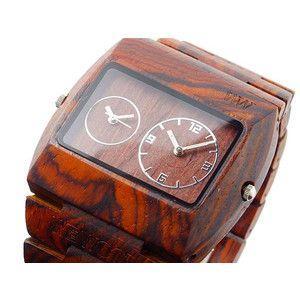 ウィーウッド WEWOOD 木製 腕時計 ジュピター ブラウン rcmdse