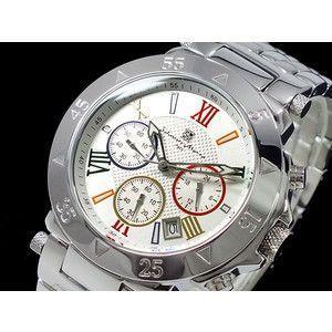 サルバトーレマーラ 腕時計 クロノグラフ メンズ SM8005-WHCL|rcmdse