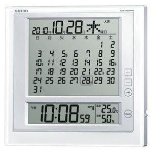 セイコー SEIKO マンスリーカレンダー機能搭載電波掛置兼用時計 SQ422W|rcmdse