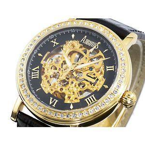 アルブータス ARUBUTUS 腕時計 自動巻き スケルトン AR209GBB|rcmdse