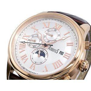 アルブータス ARUBUTUS 腕時計 自動巻き マルチファンクション AR208RWF|rcmdse
